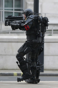 Filming takes place for the upcoming movie 'All You Need is Kill'
