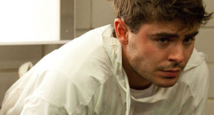 Zac Efron as Dr Jim Carrico in the film Parkland