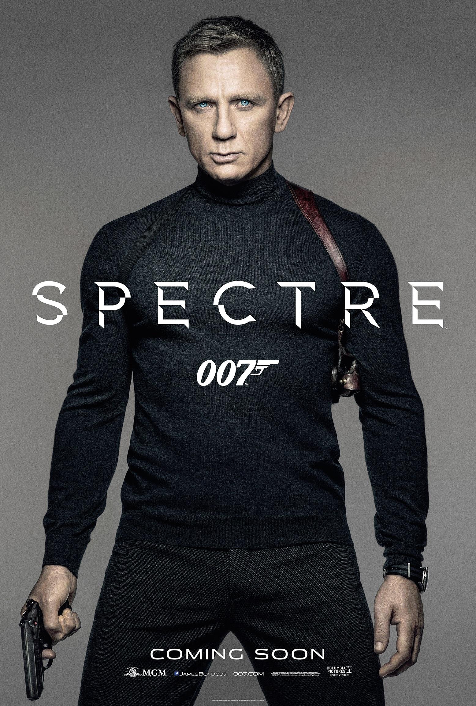Oficiálny poster k filmu SPECTRE
