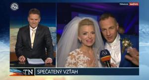 puskarova svadba televizne noviny svadba zivy vstup